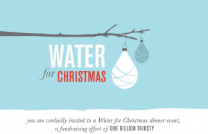 Carmel Valley San Diego Community | Water for Christmas Invite