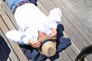 Carmel Valley San Diego Community | Sleeping Man | Sleep Yourself Skinny | Kyle Brown