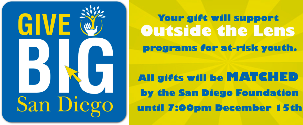 Carmel Valley San Diego Community | Give BIG | Outside The Lens