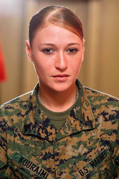 Carmel Valley San Diego Community | Corporal Angela M. Kouraimi | Marine of the Month | North County DanceArts Inc.