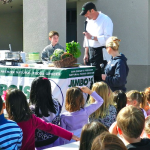 Carmel Valley San Diego Community   Healthy Choices Day at Sage Canyon Elementary   Jimbo's Naturally