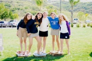 Carmel Valley San Diego Community | San Diego Teens Walk Barefoot for a Good Cause | Elle Lefebvre