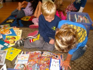 Carmel Valley San Diego Community | Kristin Rude | Children Reading