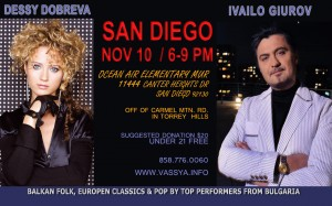 Carmel Valley San Diego Community | Bulgarian Singers at Ocean Air