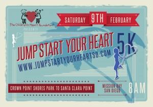 Carmel Valley San Diego Community | Stephanie Miletich| Jump Start Your Heart 2013 Flyer