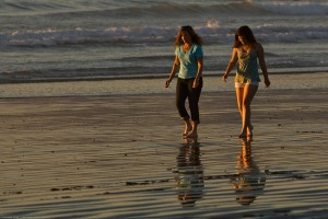 Carmel Valley San Diego Community | Dr. de Freitas | Mother and Daughter