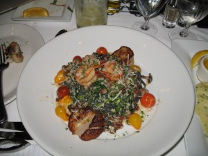 Carmel Valley San Diego Community | Perry Chen | Ink Linguini with Scallops and Prawns
