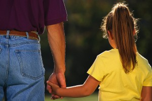 Carmel Valley San Diego Community | Dr. Keith Kanner | Father Holding Daughter's Hand