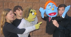 Carmel Valley San Diego Community | CCA | Avenue Q School Edition Cast.