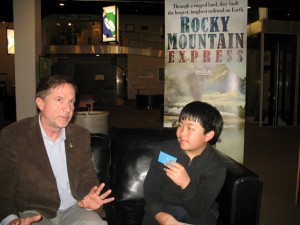 Carmel Valley San Diego Community | Perry Chen | Interviewing Pietro Serapiglia Producer of Rocky Mountain Express