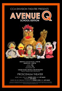 Carmel Valley San Diego Community | Canyon Crest Academy | Avenue Q Poster