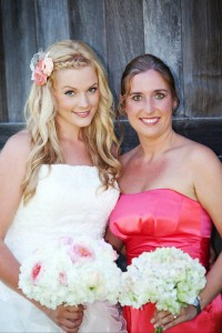 Carmel Valley San Diego Community | Amy Mewborn | Bride and Bridesmaid