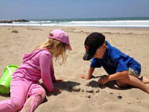 Carmel Valley San Diego Community | Kristin Rude | Children at the Beach