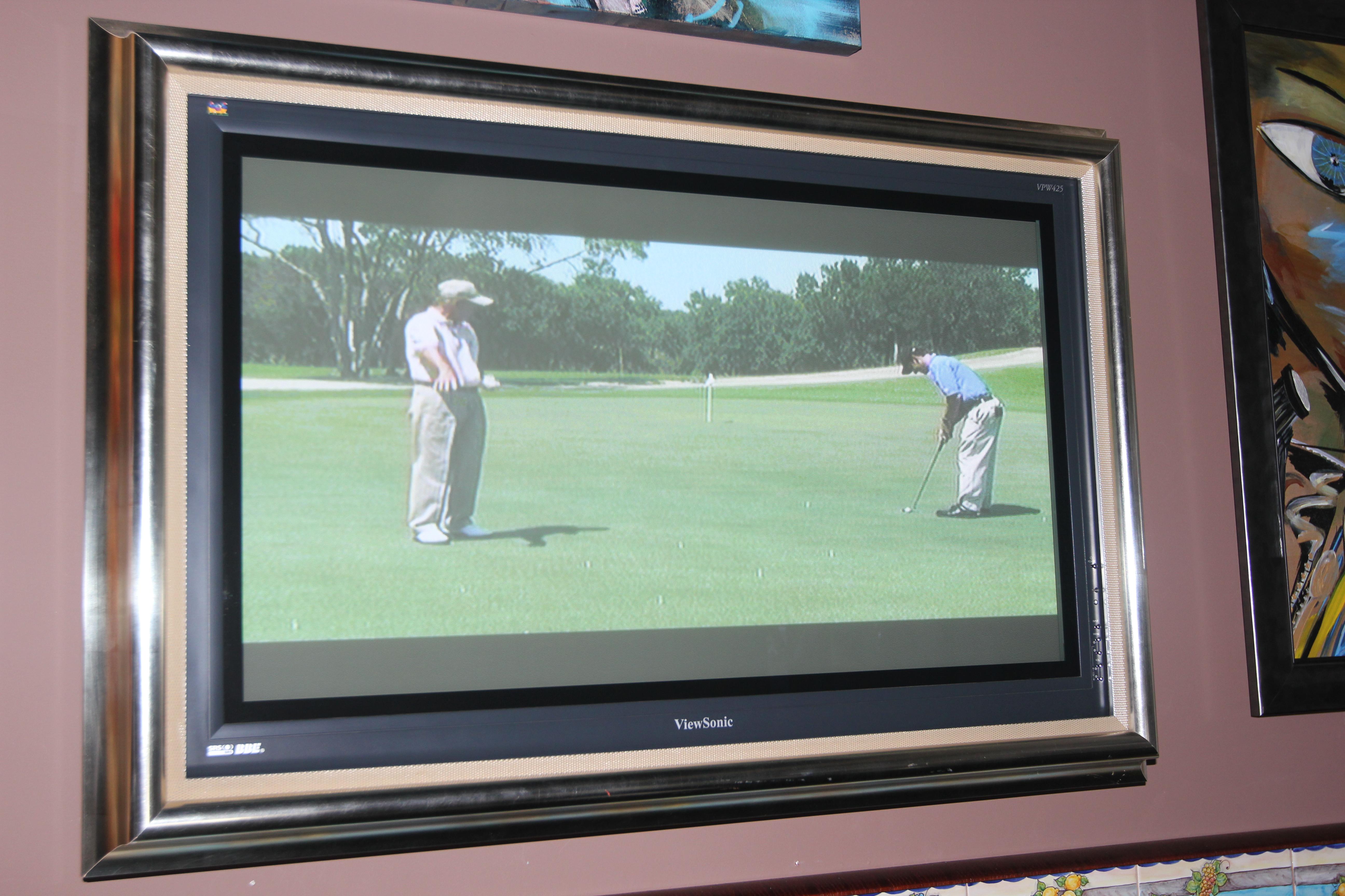 carmel valley san diego community munro gallery flat screen tv framed