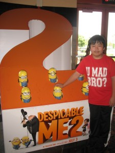 Carmel Valley San Diego Community | Perry Chen | Perry Chen at Despicable Me 2 Press Screening