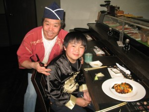 Carmel Valley San Diego Community | Perry Chen | Perry Chen with Zip Fusion Chef Kim