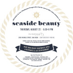 Carmel Valley San Diego Community | P.S. Platinum | Angela Meakins Bergman | Seaside Beauty Invite