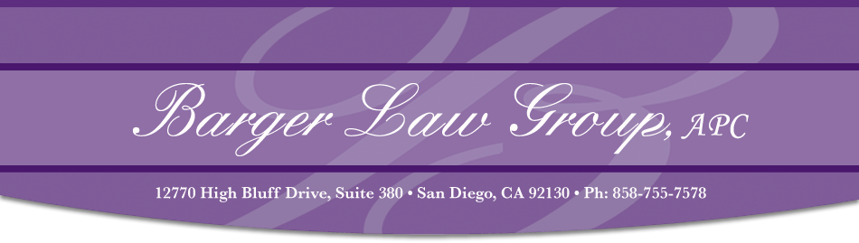 Carmel Valley San Diego Community | Barger Law Group