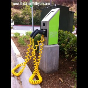 Carmel Valley San Diego Community | eCharging Stations at Torrey Hills Center | Going Green