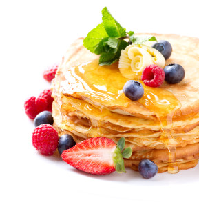Carmel Valley San Diego Community | Amy Mewborn | Pancakes with Fruit