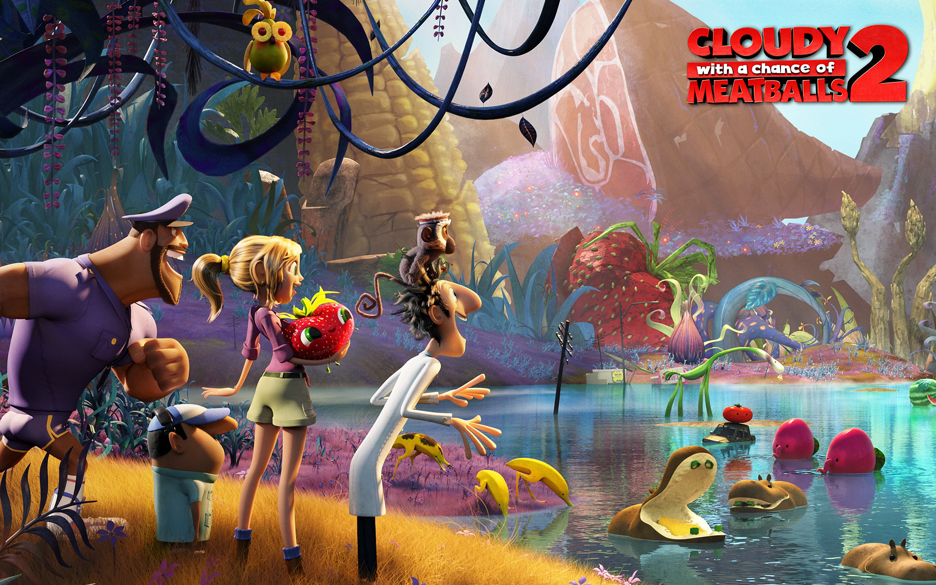 92130 Kid Critic Review Cloudy with a Chance of Meatballs 2  The