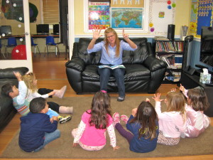 Carmel Valley San Diego Community | Kristin Rude | Children Listening to a Story