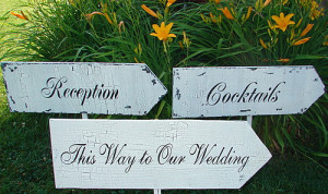 Carmel Valley San Diego Community | Christine Ellingsen | Wedding Signs