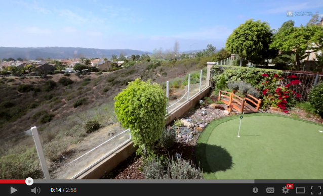 Video torrey hills home offers dramatic views san diego for 10564 corte jardin del mar
