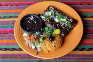 Carmel Valley San Diego Community | Ashley Shafer | Turkey Mole Enchiladas