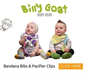Billy Goat Durable, Stylish Bandana Bibs & Pacifier Clips (final)