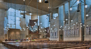 Carmel Valley San Diego Community | Laurie Hawkins | Inside-Cathedral-of-our-Lady-of-the-Angels-church-los-angeles-ca-david-zanzinger